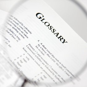 Bitcoin Glossary of Terms Cryptocurrency